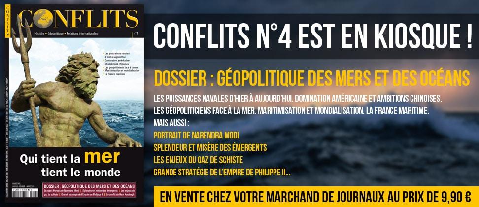 Conflits n°4 : Géopolitique des mers et des océans