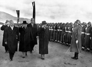 Visite officielle de Khrouchtchev à Kaboul 1955
