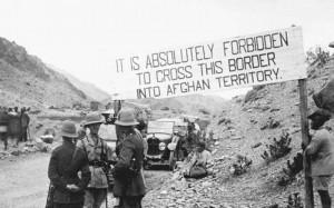 """Une frontière stratégique. La """"ligne Durand"""" fermée par les Britanniques en 1919"""