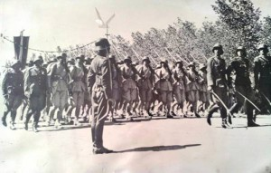 Prise d'armes de l'armée afghane en 1943