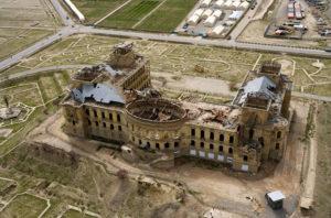 Le palais de Dar-ul-Amân. Les travaux de restauration commencent (2010)