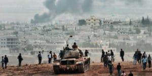 L'armée turque prend position face à Kobané, mais n'intervient pas