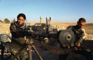 Les combattants kurdes résistent à la pression de l'EI