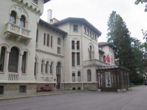 Vrana, résidence de Siméon II de Bulgarie