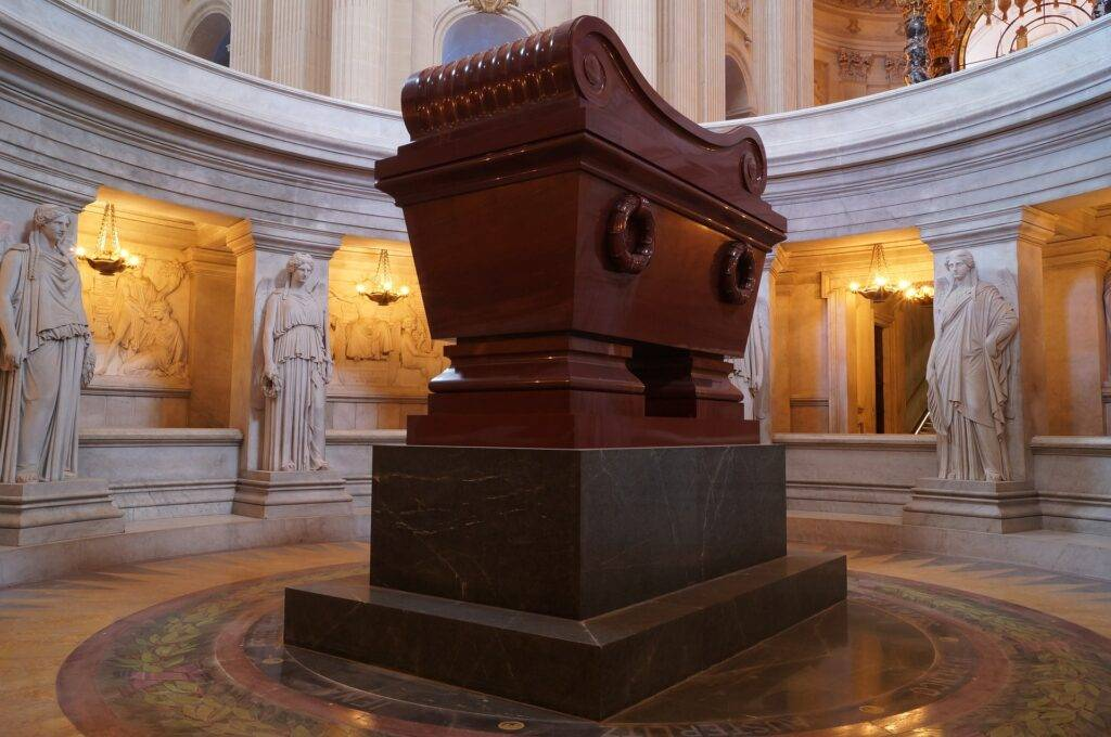 Inauguration de l'exposition « Napoléon n'est plus »