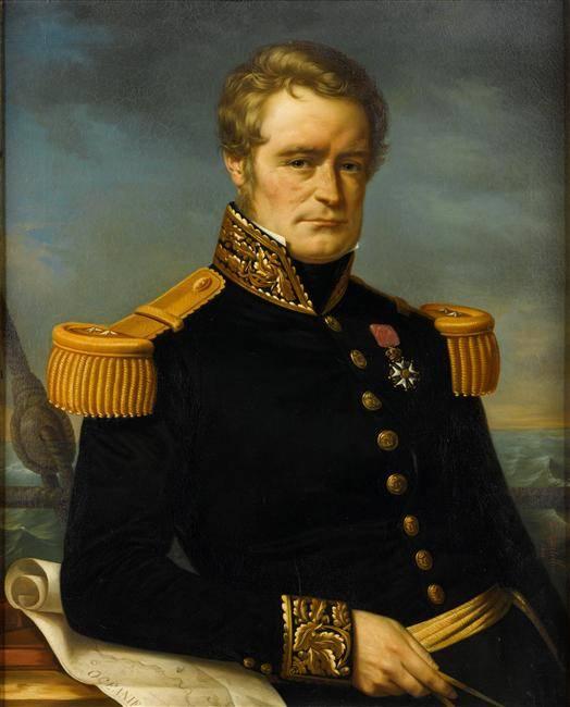 Jules Dumont D'Urville, la France en mer