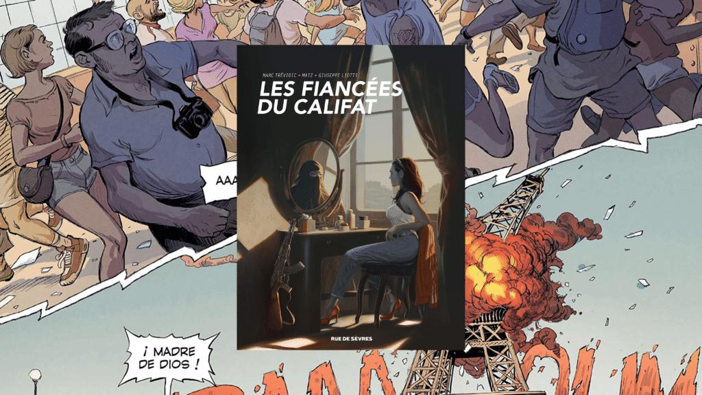 Livre – Le terrorisme au féminin, et en bande dessinée